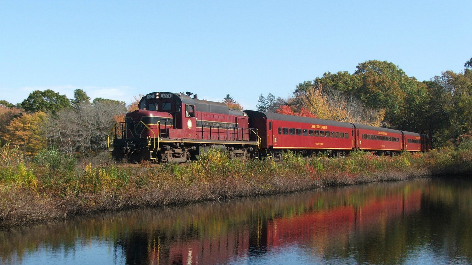 Things To Do in Cape Cod  - Railroad